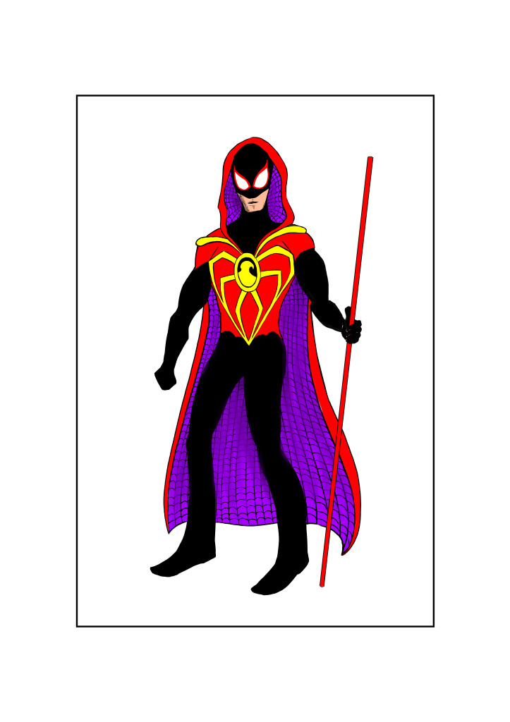 Red Robin Spider colour